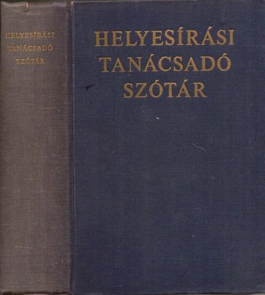 helyesírási szótár mta
